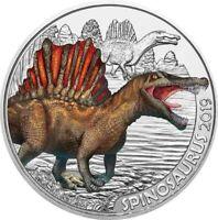 3 Euros Commémorative Autriche 2019 Colourful Creatures Arambourgiana