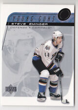 02-03 Upper Deck Steve Eminger Young Guns SSP Rookie Capitals SP RC 2002