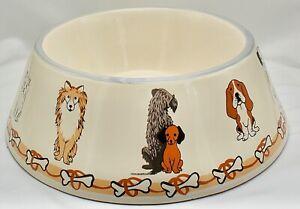 LARGE CERAMIC DOG BOWL & PLACEMAT SET PET MATS