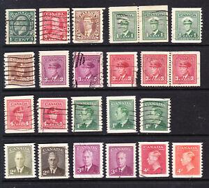 Canada.  Coil & booklet issues   L6526