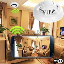 New Wireless UFO P2P Camera Wifi Spy Smoke Detector Motion Detect DVR Camcorder
