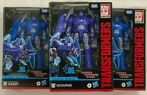 Transformers (The Movie) Studio Series 86 Scourge and The Sweeps
