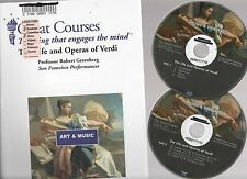 Teaching Company LIFE AND OPERAS OF VERDI DVD & Course Guide Book