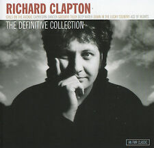 RICHARD CLAPTON  DEFINITIVE COLLECTION CD NEW