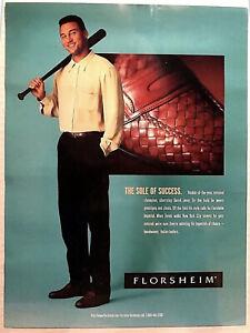 Derek Jeter Poster Vintage Florsheim Advertising Display Poster RARE HOF 2020