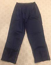 Men's Reebok Athletic Shell Pants sz Xl Lightweight Track Exercise Blue Nylon