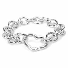 Tiffany & Co. Heart Bracelet in Sterling Silver