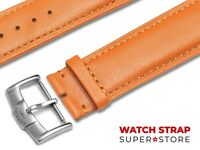 Brown Fits ROTARY Watch Strap Band Genuine Leather 18 19 20 21 22mm For Buckle