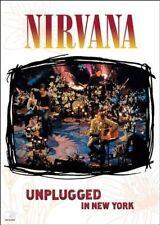 NIRVANA (MTV UNPLUGGED DVD - *NTSC REGION 1* SEALED + FREE POST)
