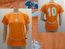 Gold Football Fussball Shirt Holland Boy Van Nistelrooy Mesh Orange Gr 12 14