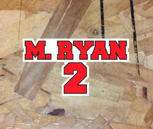 "Matt Ryan #2 Atlanta Falcons Quarterback Fan enthusiast sticker decals - 4"""