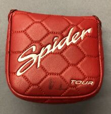 TaylorMade Spider Tour Red Mallet Putter Cover Headcover (#100619A)