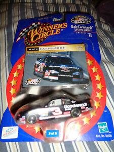 LOOK! Dale Earnhardt Sr. 2000 Lifetime Series NEW ON CARD! Hasbro Winners Circle