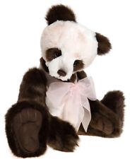 Charlie Bears Teddy Panda Esme Ca. 44cm groß Bär