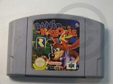 !!! NINTENDO N64 SPIEL Banjo Kazooie, gebraucht aber GUT !!!
