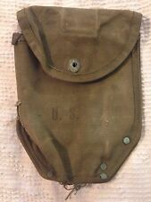 WW2 Era US Army Military Issue Shovel Entrenching Tool Canvas Cover (hd4)