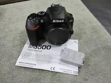 NIKON D3500 24.8MP BODY SHUTTER COUNT 12 L/N