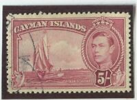 Cayman Islands Stamps Scott #110 Used,VF (X6018N)