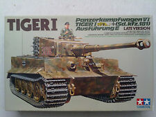 Tamiya 35146 Panzerkampfwagen VI Tiger I Ausf.E Sd.Kfz.181 Late Version 1:35 Neu