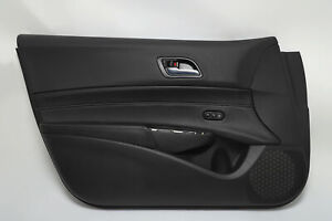 Acura ILX Front Left/Driver Door Panel Black Leather OEM 19-20 A934 2019, 2020