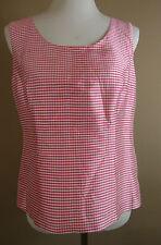 Karierte klassische Damenblusen, - tops & -shirts mit Rundhals-Blusen im