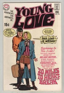 Young Love #78 February 1970 FN Toth art