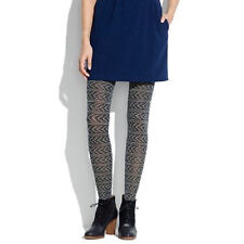 Hansel from Basel Charcoal Gray Grammer Merino Wool Blend Tights  M/L