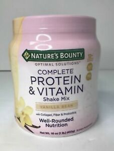 Natures Bounty Complete Protein & Vitamin Shake Mix 16oz