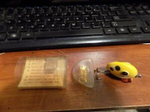 South Bend Fin-Dingo Fishing Lure 1952-1953 with Paper work and TUBE