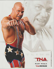 Kurt Angle Officially Licensed TNA Wrestling Promo Photo