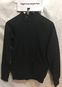 Men's Admiral Admirably British Jacket Top Black Size XS 33-35 Inches