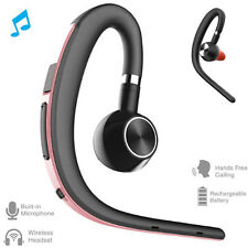 Wireless Bluetooth Headset Earpiece Stereo Earbud For iPhone 12 11 8 7 6S Plus X
