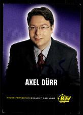 Axel Dürr Autogrammkarte Original Signiert # BC 49776