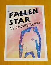 FABER CLASSIC BOOK COVER POSTCARD ~ FALLEN STAR BY JAMES BLISH ~ 1957 DESIGN