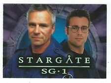 Stargate SG-1 Diamond Select Action Figure Promo Card Rittenhouse Archives 2006