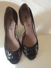 Miss Sixty Black Heeled Shoes Size 39