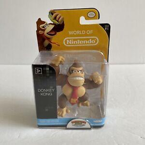 "World Of Nintendo Donkey Kong 2.5"" Figure - Series 1-1 Jakks Pacific Brand New"