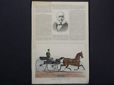 Illustrated Sporting And Dramatic News 3s27 American Trotting Mare May 1880