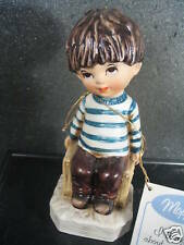 """Gorham Moppets 1971 BOY SITTING IN CHAIR """"I Thought About You Today"""""""