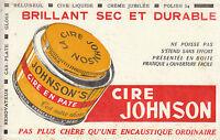 Buvard Vintage  Cire Johnson