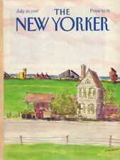 New Yorker COVER 07/20/1987 Farm Scene - STEVENSON