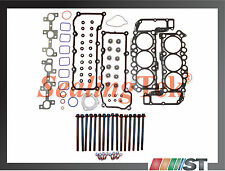 Fit 02-05 Dodge Jeep 3.7L V6 Cylinder Head Gasket Set w/ Bolts Power-Tech Engine