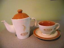 Tim Hortons Teapot and Cup and Saucer