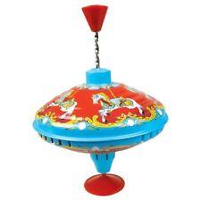 Carousel Metal Spinning Humming Top