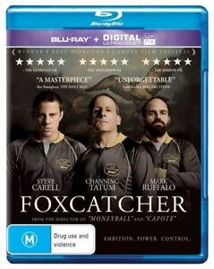 Foxcatcher (Blu-ray, 2015) Steve Carell Drama