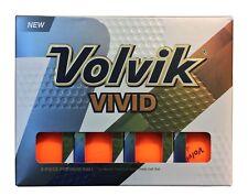 *NEW* 2018 Volvik Vivid Golf Balls 2 Dozens Orange