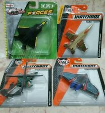 MATCHBOX  SKY BUSTERS and MAISTO FRESH METAL SKY SQUAD   SET OF 4  NEW.