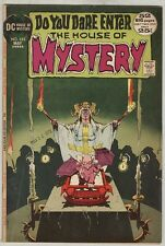 House of Mystery #202 May 1972 VG 52 PG Giant, Kaluta Cover, 1PG Wrightson Art