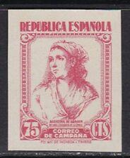 1939 España - Edifil NE53 - Correo Campaña - MNH - Valor 45 €