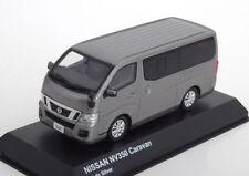 NISSAN NV350 CARAVAN 2012 BLADE SILVER KYOSHO 03639GR 1/43 SILBER ARGENT VAN